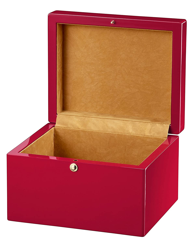 Howard Miller Iridescent Red Bx Urn Box 800187