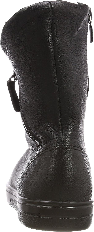 ECCO Fara, Bottes Hautes Femme Noir Black 1001