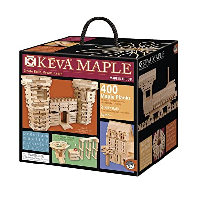 KEVA Maple 400 Plank Set: Toys & Games