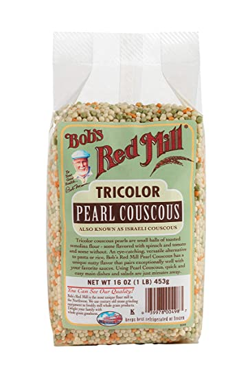 Bobs Red Mill Couscous Pearl Tri-Color, 16 oz