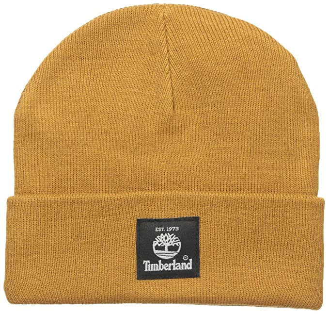 Timberland Men's Short Watch Cap, Wheat, One Size: Amazon.ca