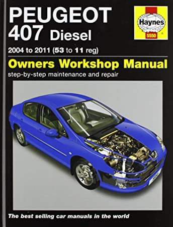 peugeot 407 diesel service and repair manual 2004 2011 haynes rh amazon co uk Peugeot 308 Estate vs Ford Focus SW Peugeot 308 SW Dimensions