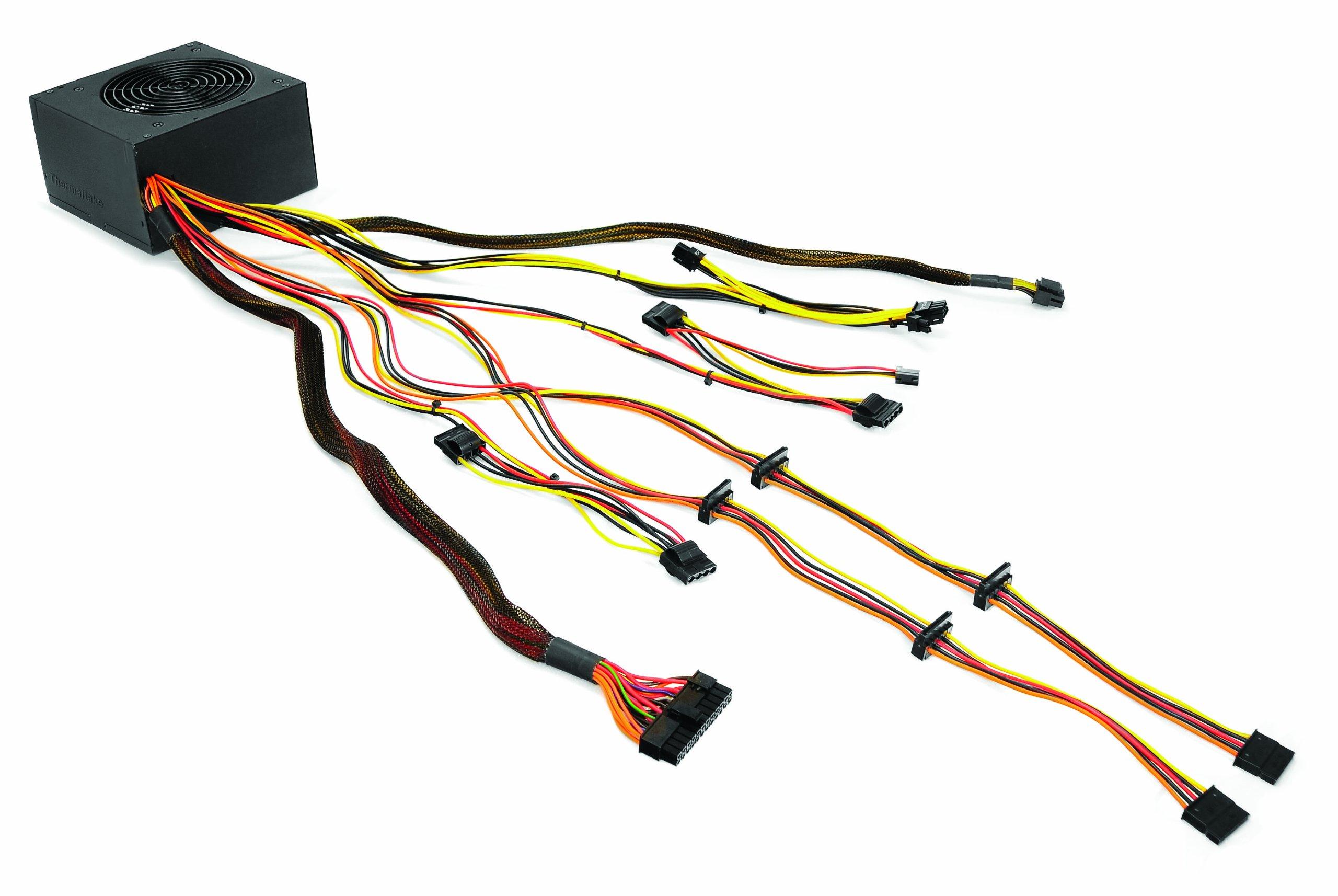 Thermaltake TR2 600W ATX 12 V2.3 Power Supply TR-600CUS