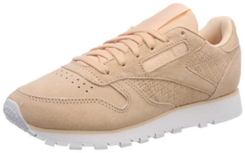d1f215efadc Reebok Women s Classic Leather Woven Emb Low-Top Sneakers  Amazon.co ...