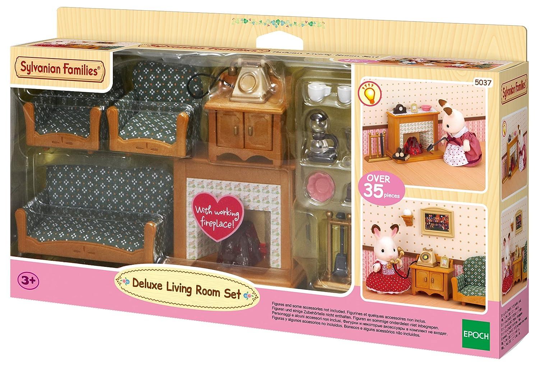 sylvanian families deluxe living room set amazoncouk toys games - Sylvanian Families Living Room Set