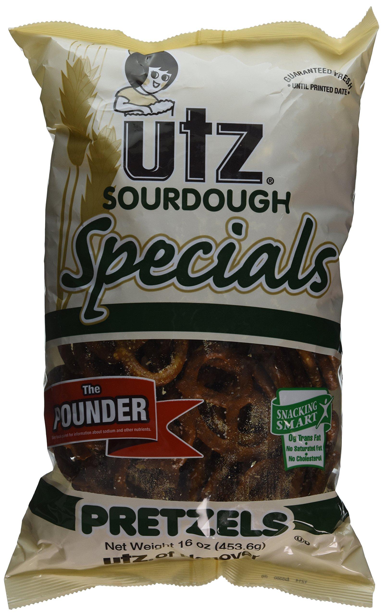 Utz Sourdough Specials Pretzels, 16 Ounce