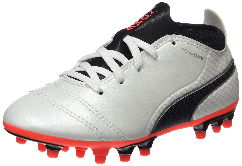 e42289e9adad Puma Unisex Kids  One 17.4 Ag Jr Football Boots  Amazon.co.uk  Shoes   Bags