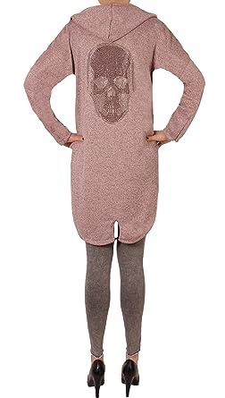 9f0c8d47f2 Fashion You Want Damen Cardigan Größe 38/40-48/50 verfügbar Sterne Star