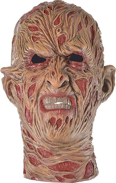 Suit Yourself Máscara de Pesadilla en la Calle ELM Freddy Krueger para Adultos, Talla única, de látex con Cicatrices de Quemado de Firma: Amazon.es: Ropa y accesorios