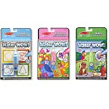 Melissa & Doug On the Go Water Wow! Activity Pads Set - Colors and Shapes, Fairy Tales, Animals