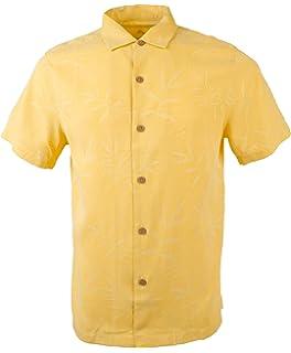 c3291eedbc0f9e Tommy Bahama Men s Shirt Catalina Twill Camp Button Up Short Sleeve ...