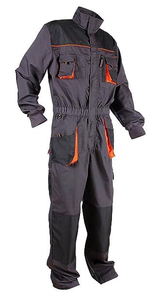Stenso Emerton® - Tuta da Lavoro con molteplici Tasche - Grigio Nero  Arancione  Amazon.it  Abbigliamento 3a5a6aea93d