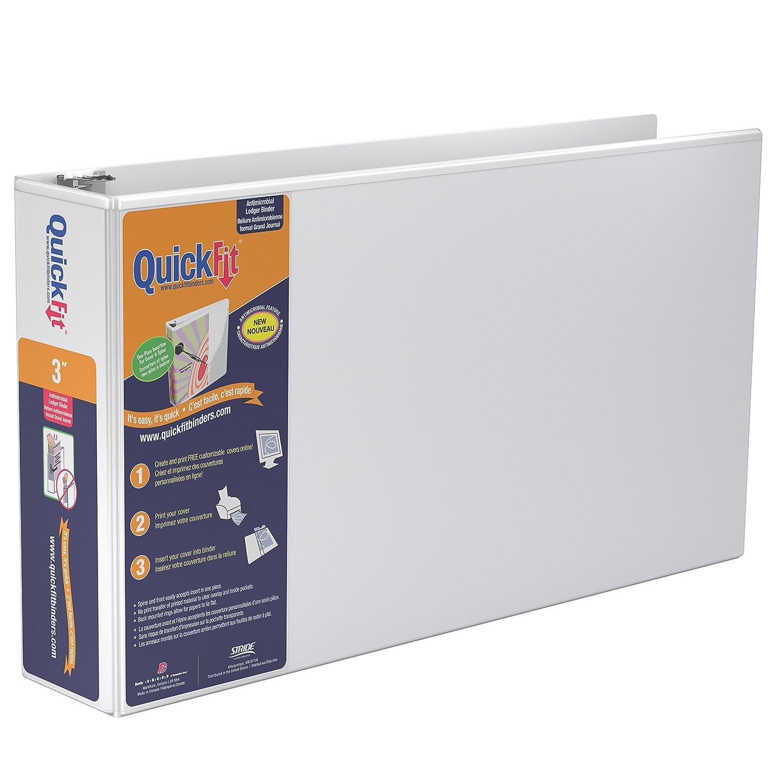 quickfit heavy duty 11 x 17 landscape spreadsheet view binder 1