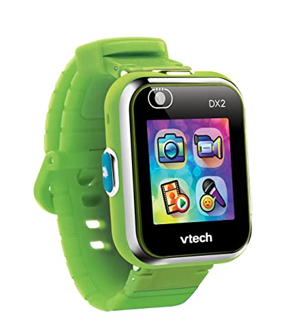 VTech Kidizoom Smart Watch DX2 - Reloj inteligente para niños para niños, color verde, versión Alemana