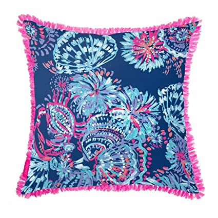 Amazon Lilly Pulitzer IndoorOutdoor Large Decorative Pillow Custom Lilly Pulitzer Decorative Pillows