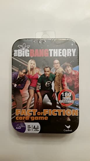 The Big Bang Theory Juego de Cartas Fact or Fiction en Lata ...