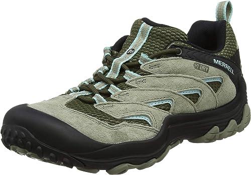 Merrell Cham 7 Limit Mid WP, Chaussures de Randonnée Hautes