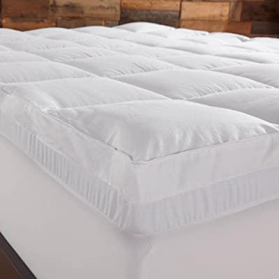 Sleep Innovations 4-Inch Dual Layer Mattress Topper review