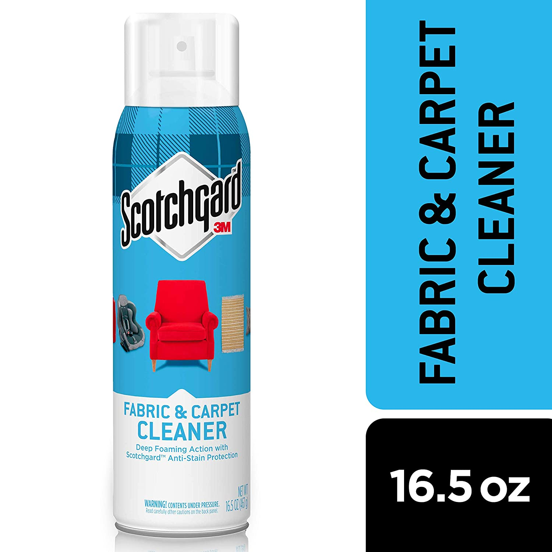 Scotchgard Fabric & Carpet Cleaner, 1 Can, 16.5-Ounce