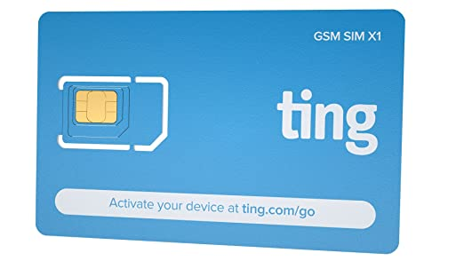 AmazonCom Ting Gsm Sim Card  Average Monthly Bill Is  No