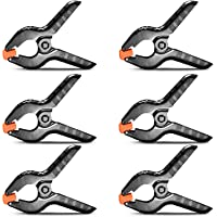 """Neewer 6-Pack Set Heavy Duty Muslin Spring Clamps Clips 4.3""""/11cm for Photo Studio Backdrops Backgrounds Woodworking"""