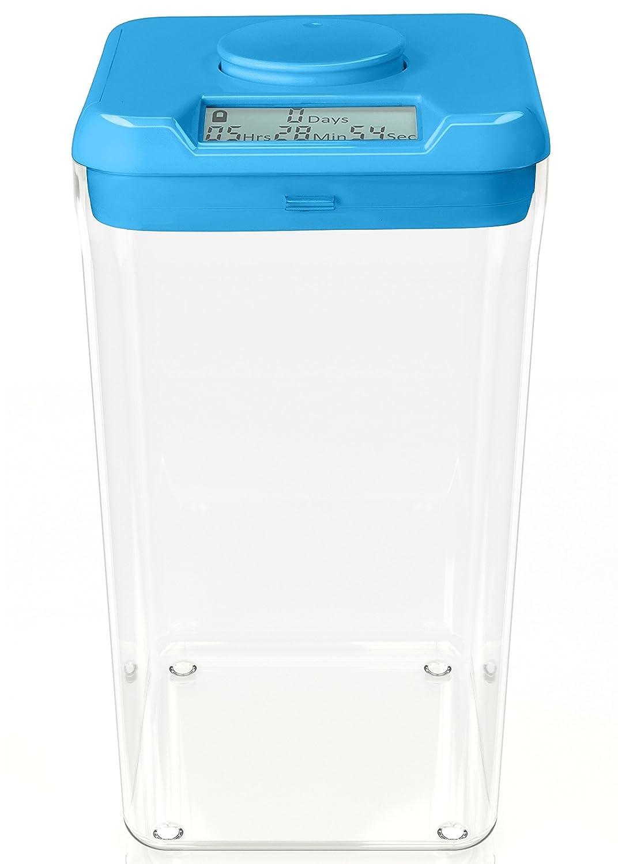 Standard Size Blue Lid + Clear Base Kitchen Safe Full Unit