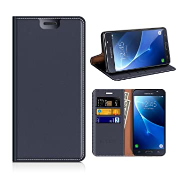2d38d9f6303 MOBESV Funda Cartera Samsung Galaxy J7 2016, Funda Cuero Movil Samsung J7  2016 Carcasa Case con Billetera/Soporte para Samsung Galaxy J7 2016:  Amazon.es: ...