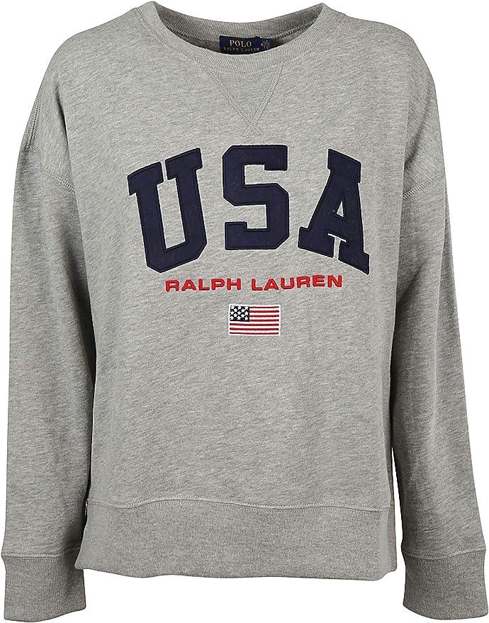 Ralph Lauren 211697038 - Sudadera de algodón para mujer, color ...
