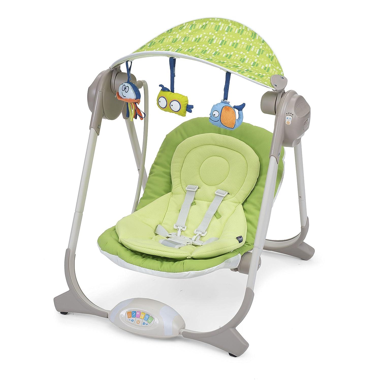 Chicco Polly Swing Verde mecedora y silla para bebés ...