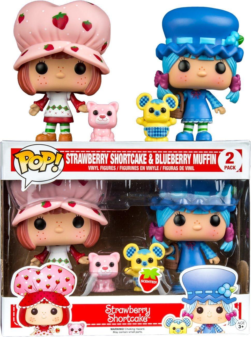 Vinyl Figure Strawberry Shortcake FUNKO NEW Blueberry Muffin /& Cheesecake Pop