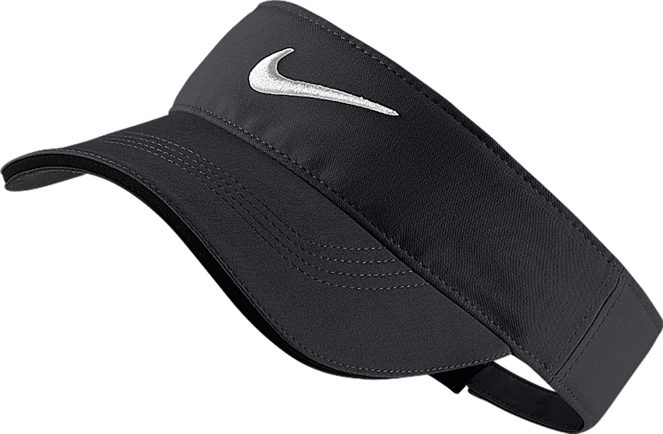 Nike Golf Tech Tour Adjustable Visor (Dark Grey/Anthracite/White)