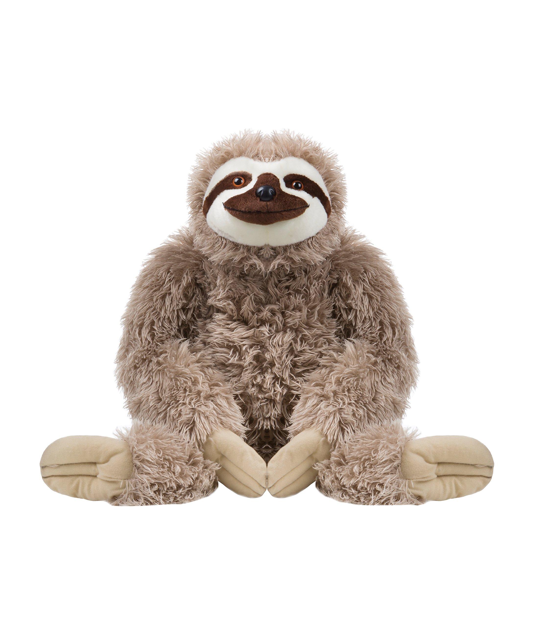 Wild Republic Jumbo Sloth Plush, Giant Stuffed Animal, 30 Inches by Wild Republic