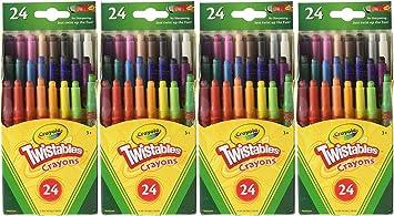 Crayola Mini Twistables Crayons 4 PACK