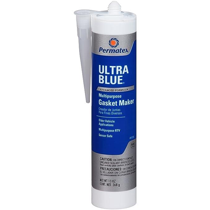 Amazon.com: Permatex 81725 Sensor-Safe Ultra Blue RTV Silicone Gasket Maker, 13 oz.: Automotive