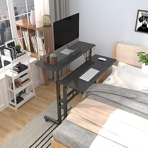 sogesfurniture Mesa Ajustable Altura Mesas para Ordenador móvil ...