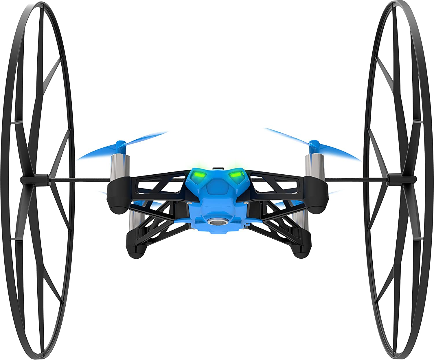 Parrot - MiniDrone Rolling Spider, Color Azul (PF723001AA): Amazon ...