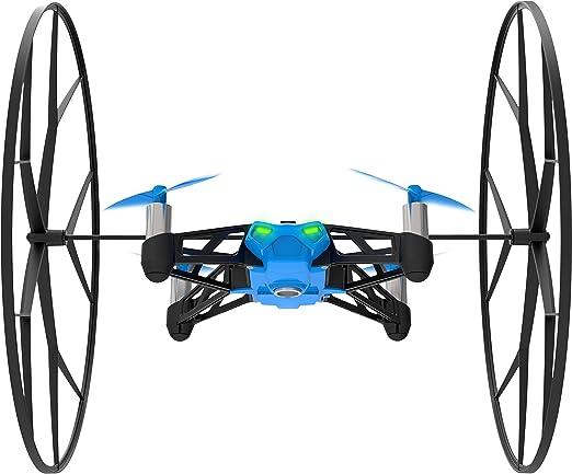 252 opinioni per Parrot Minidrones Rolling Spider Drone, Blu/Nero
