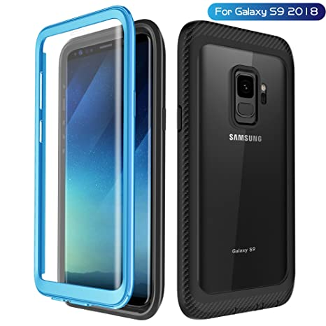 Amazon.com: Samsung Galaxy S9 Funda, singdo protección Full ...