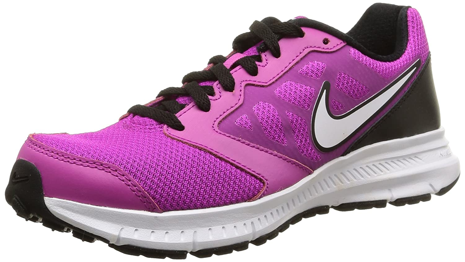 Nike Downshifter 6 MSL - Zapatillas para Mujer 36.5 EU|Rosa (Fuchsia Flash / White Black White)