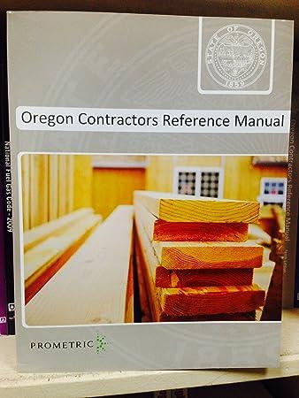 amazon com oregon contractors reference manual health personal care rh amazon com  oregon contractor manual 11th edition