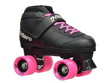 Epic Skates Super Nitro Indoor/Outdoor Quad Speed Roller Skates by Epic Skates