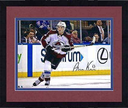 c49ec6c52 Framed Alexander Kerfoot Colorado Avalanche Autographed 16 quot  x 20 quot   NHL Debut Photograph - Fanatics