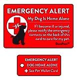 DuraPaws My Dog is Home Alone Emergency Alert