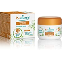 Puressentiel Muscles & Joints Soothing Balm 30 ml - To help reduce pain intensity - Hold/Cold effect - Efficacy scientifically tested - Natural camphor & menthol - 14 pure essential oils, Wintergeen