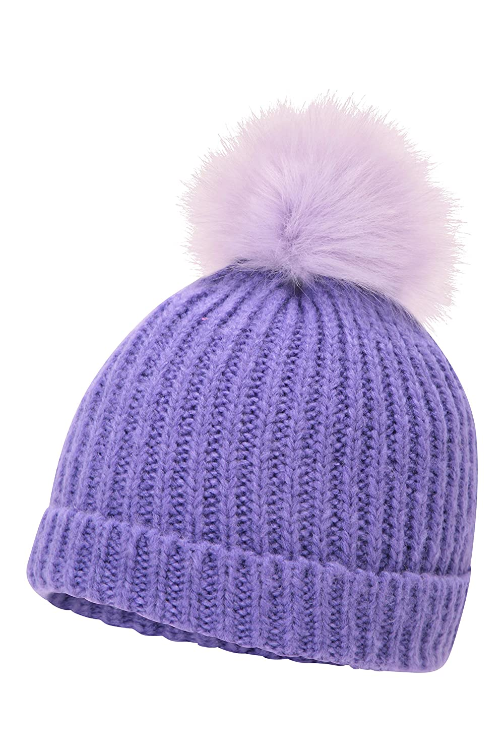 Pom Pom Warm Winter Hat Mountain Warehouse Fluff Bomb Kids Beanie