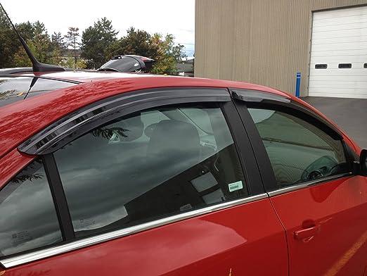 JSP Window Vent Deflector Rain Guard Visor 2012-2019 Chevrolet Sonic 4-Dr 218025