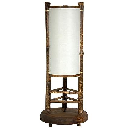 Amazon.com: Oriental Muebles Koru bambú japonés lámpara de ...