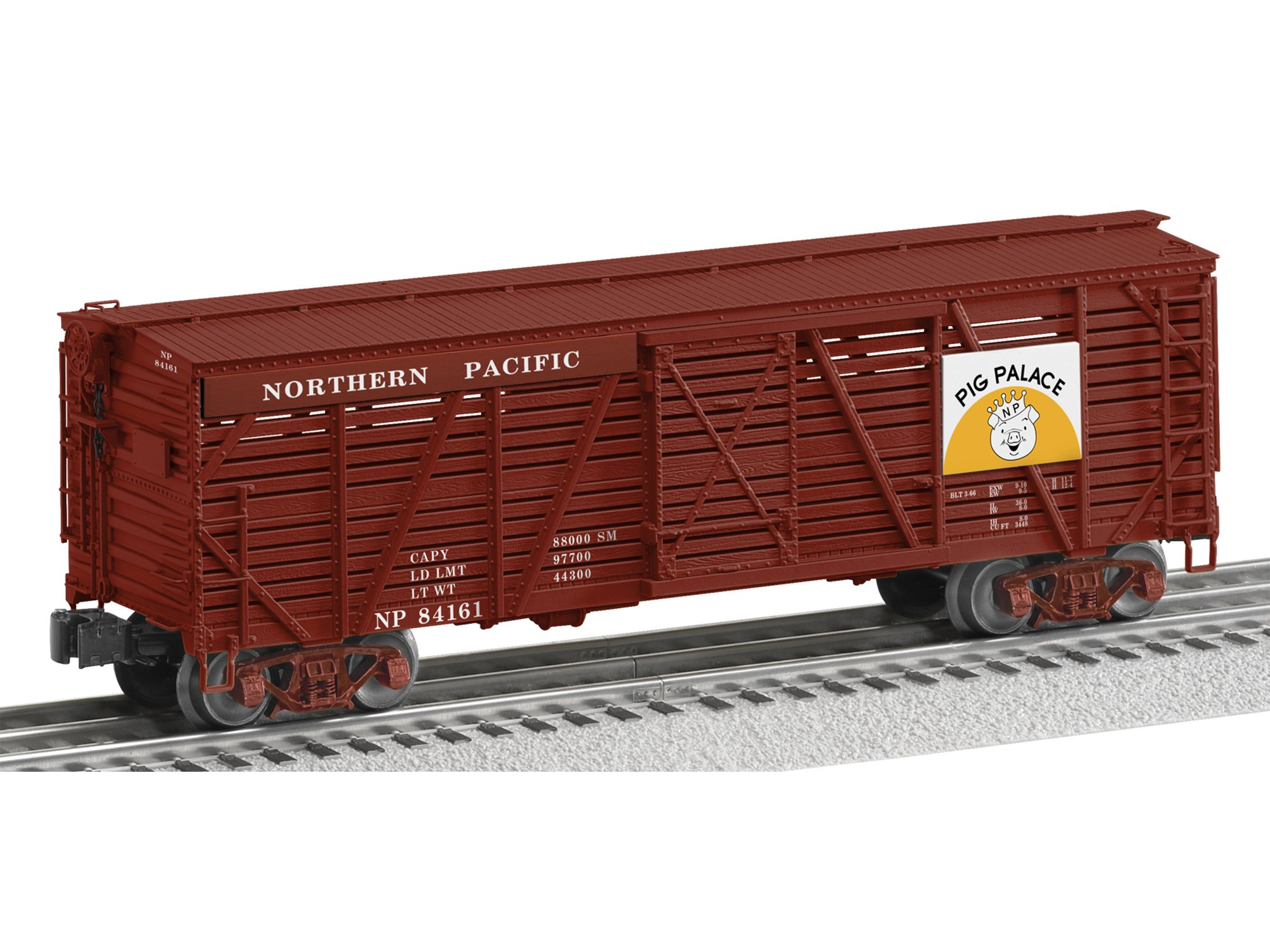 Lionel 6-82515 O Northern Pacific ACF 40-Ton Stock Car 3-Rail - Ready to Run #84161