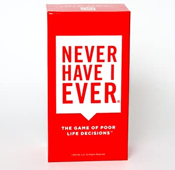 Amazon.com: Never Have I Ever, The Adult Party Card Game Of Poor ...