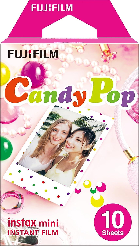 Fujifilm Instax Mini Candy Pop Instant Film, Película Instantánea, Pack de 10: Amazon.es: Electrónica